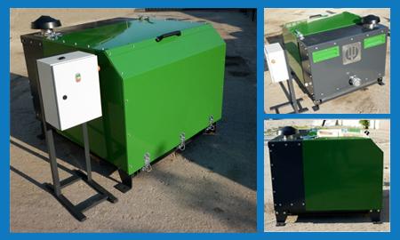 elektropak for unloading bulk material