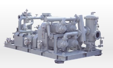 Compressor for gass