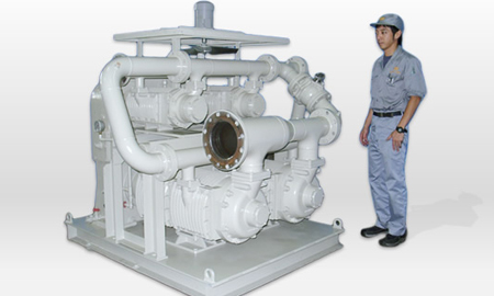 compressor for  cement