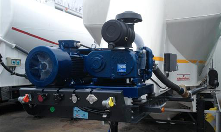 compressor for cement and other bulk dry materials, bulk compressor, air compressor for cement
